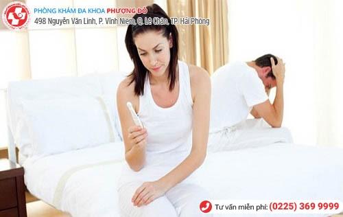 Viêm cổ tử cung khó có con