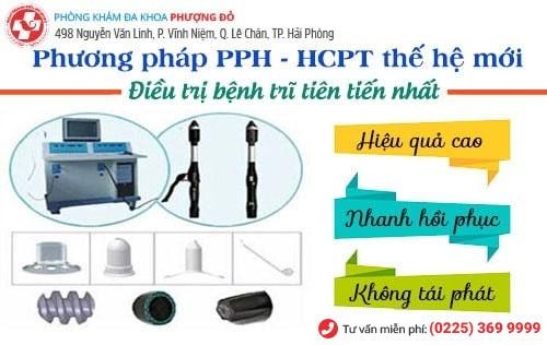 PPH và HCPT là 2 phương pháp cắt trĩ hiện đại nhất hiện nay