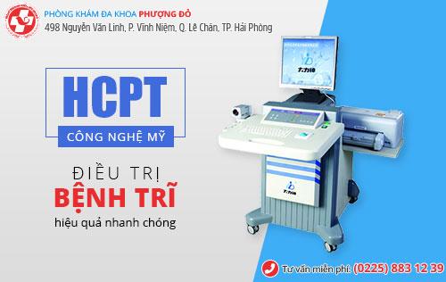 Phương pháp HCPT trị trĩ