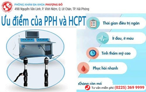 PPH, HCPT - phương pháp điều trị bệnh trĩ hiệu quả