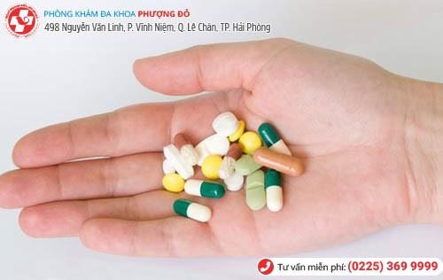 Dùng thuốc để chữa bệnh lậu nam