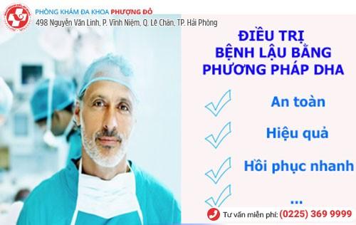 DHA - Phương pháp chữa bệnh lậu tiên tiến