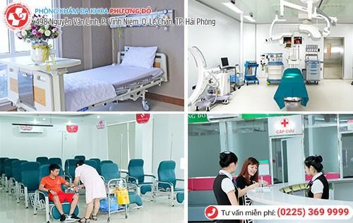 Phòng Khám Phượng Đỏ đầy đủ thiết bị y tế hiện đại chữa giang mai hiệu quả