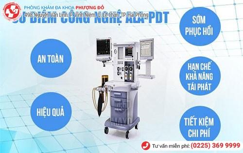 chữa sùi mào gà bằng công nghệ ALA - PDT