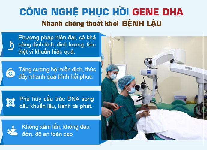 phương pháp gene chữa bệnh lậu