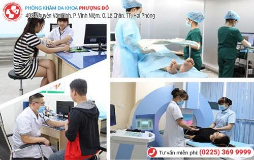 Phòng Khám Phượng Đỏ áp dụng phương pháp DHA tiên tiến chữa bệnh lậu