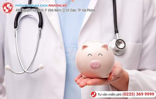 Chi phí khám chữa luôn được trao đổi trước với bệnh nhân