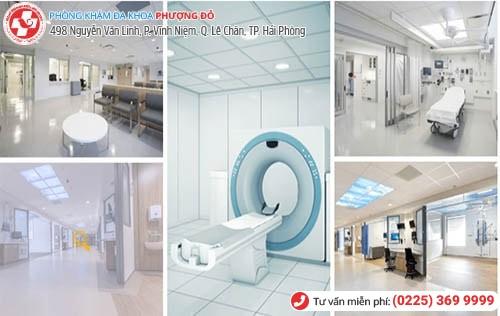 Bệnh viện nam học chất lượng, khám ngoài giờ ở Hải Phòng