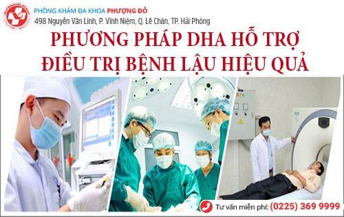 DHA - phương pháp hỗ trợ điều trị bệnh lậu tiên tiến nhất hiện nay
