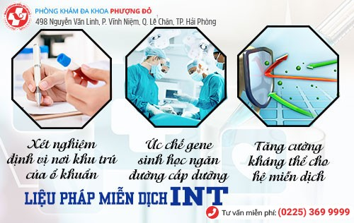 Miễn dịch INT - phương pháp chữa mụn rộp tiên tiến