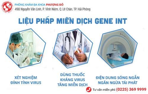Miễn dịch sinh học INT - phương pháp hỗ trợ điều trị mụn rộp hiệu quả