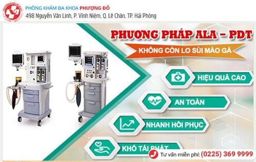 Rất nhiều trường hợp bị sùi mào gà khỏi nhờ phương pháp ALA-PDT
