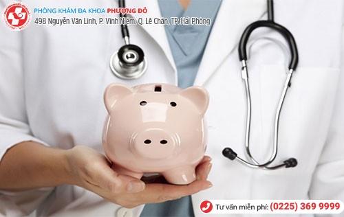 Chi phí khám chữa xét nghiệm bệnh xã hội phụ thuộc vào nhiều yếu tố