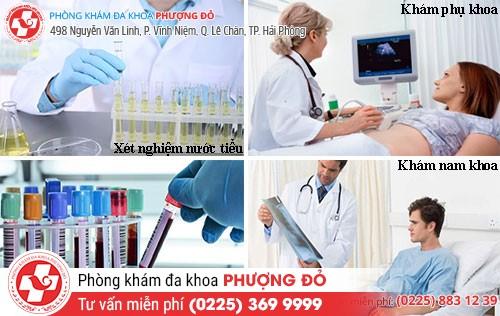 xét nghiệm bệnh nam khoa